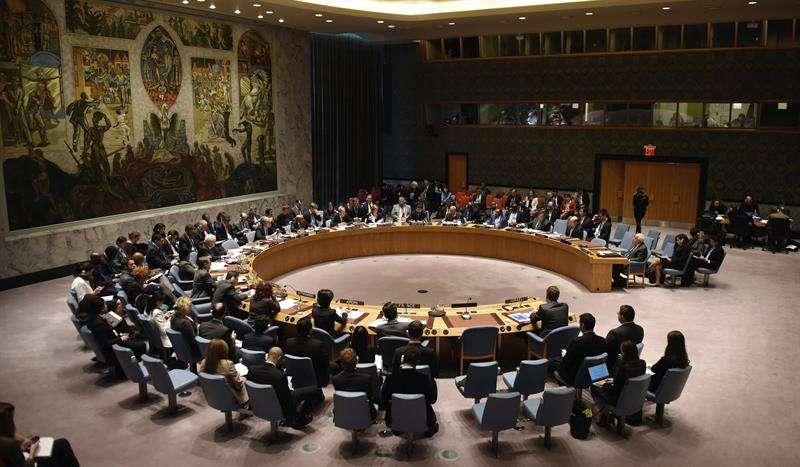 Vista general de una reunión del Consejo de Seguridad de la ONU. EFE/Archivo