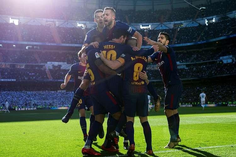 El Barça jugará el próximo ante el Celta en Balaídos. Foto: EFE