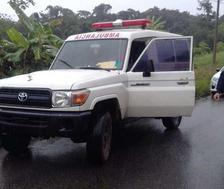 Se trata de una ambulancia comunitaria donada por una empresa privada . /  Foto: @grupoelite507