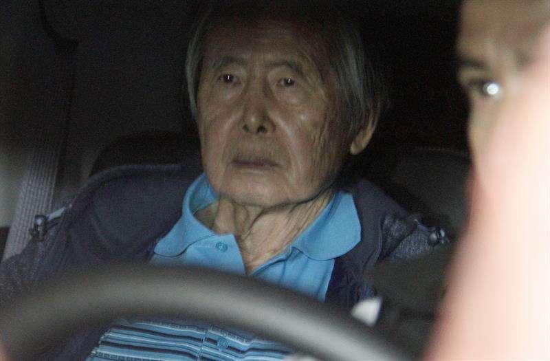 Alberto Fujimori. Foto EFE