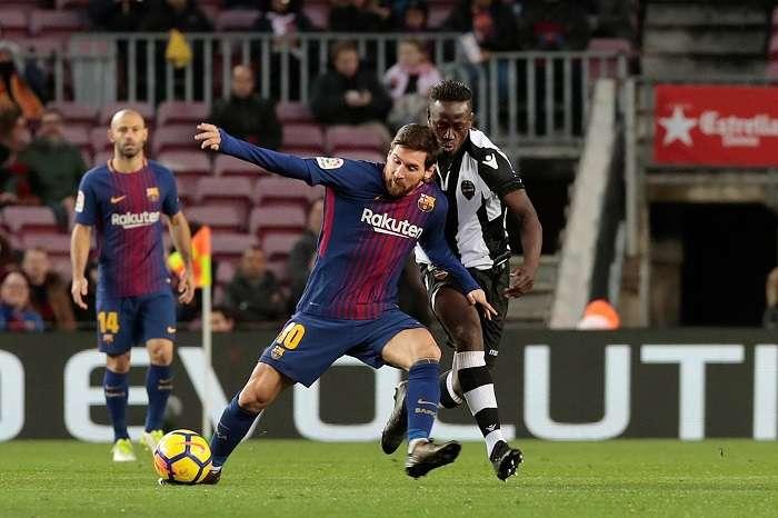 Lionel Messi, figura del FC Barcelona / EFE