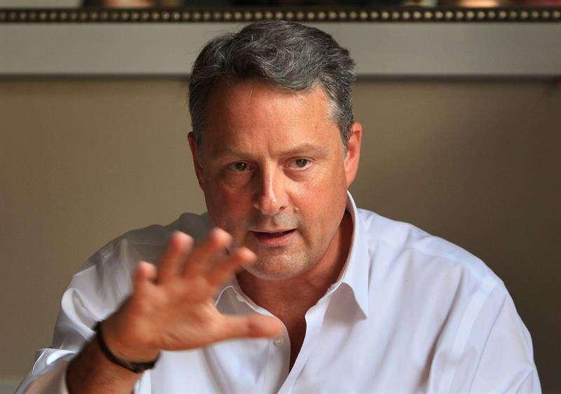 En la imagen, el exembajador de EE.UU. en Panamá, John Feeley. EFE/Archivo