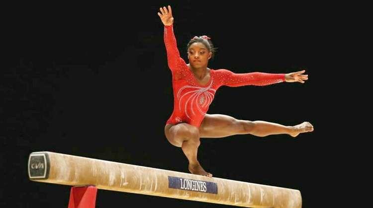 La gimnasta estadounidense Simone Biles, cuatro veces campeona olímpica. Foto: EFE