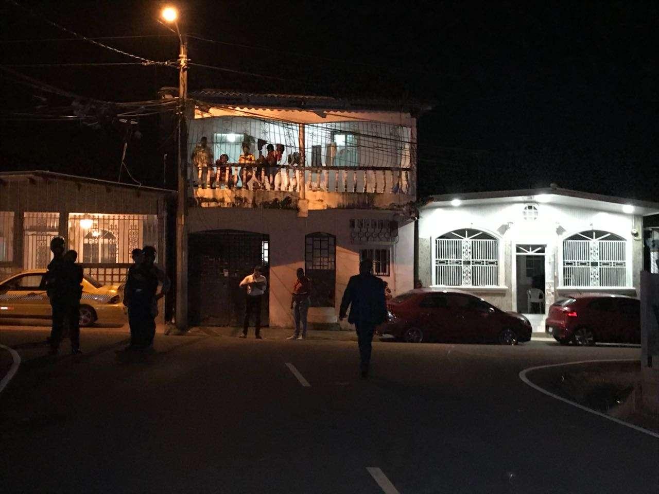 Vista general del área en donde ocurrió el asesinato de una menor de 11 añoa en Villa del Caribe. Foto: Delfia Cortez