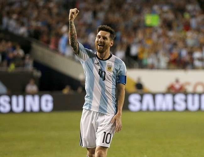 Messi, la estrella de la selección argentina y el Barcelona. Foto: EFE