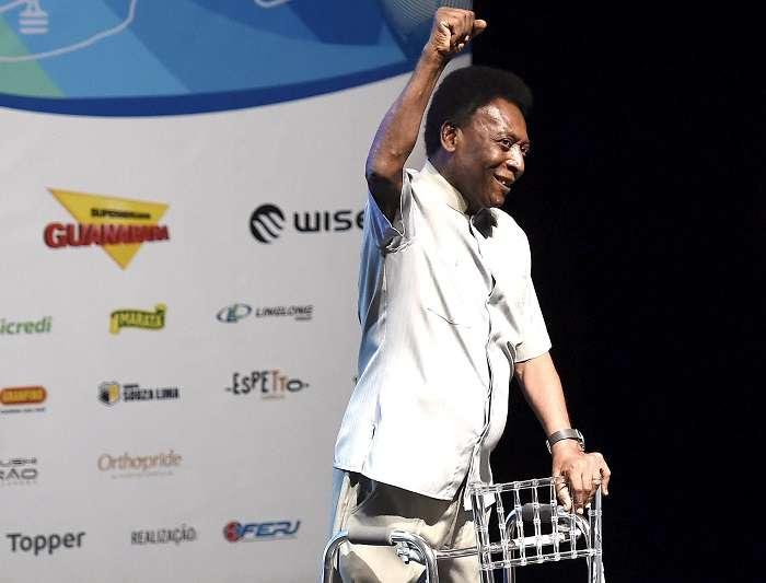 Pelé es considerado por muchos el mejor jugador de la historia./ EFE