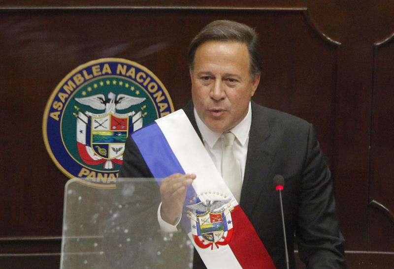 El presidente de Panamá, Juan Carlos Varela. EFEArchivo