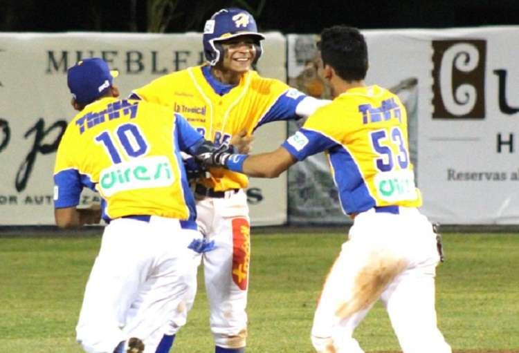 El equipo de Herrera dominó a Los Vaqueros 5 carreras por 2. Foto: Fedebeis