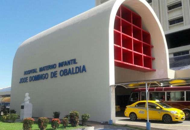 El recién nacido de sexo masculino se mantiene en el hospital materno infantil José Domingo de Obaldía y su condición es estable. /  Foto: Mayra Madrid