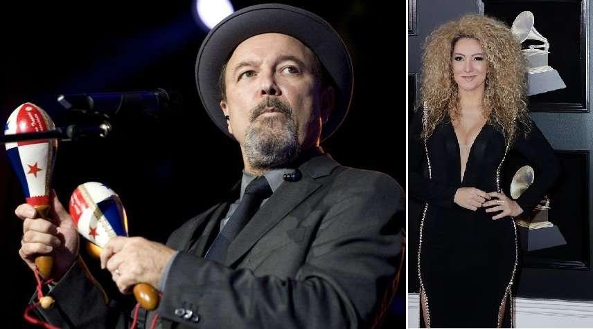 Rubén Blades (izq),  Erica Ender (der - EFE)