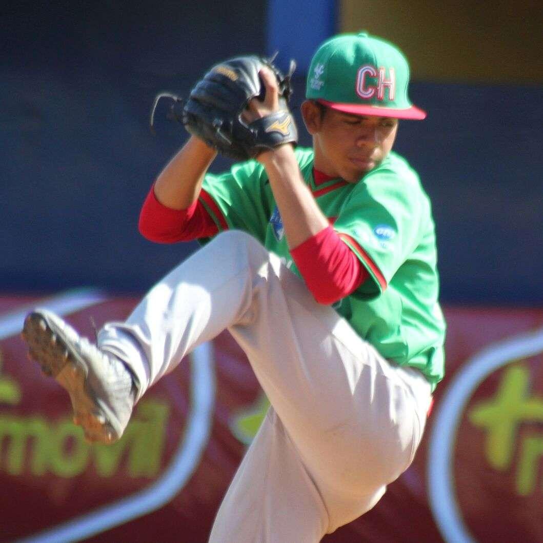 Brad González, lanzador de Chiriquí./ Foto Fedebeis