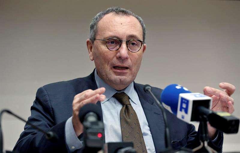 El director General de Cooperación Internacional y Desarrollo de la Comisión Europea, Stefano Manservisi, ofrece rueda de prensa hoy, miércoles 31 de enero de 2018, en La Habana (Cuba). EFE