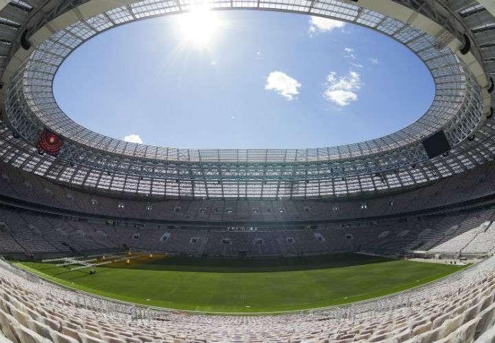 El estadio Luzhnikí será la sede del primer partido de la Copa Mundial Rusia 2018. Foto AP