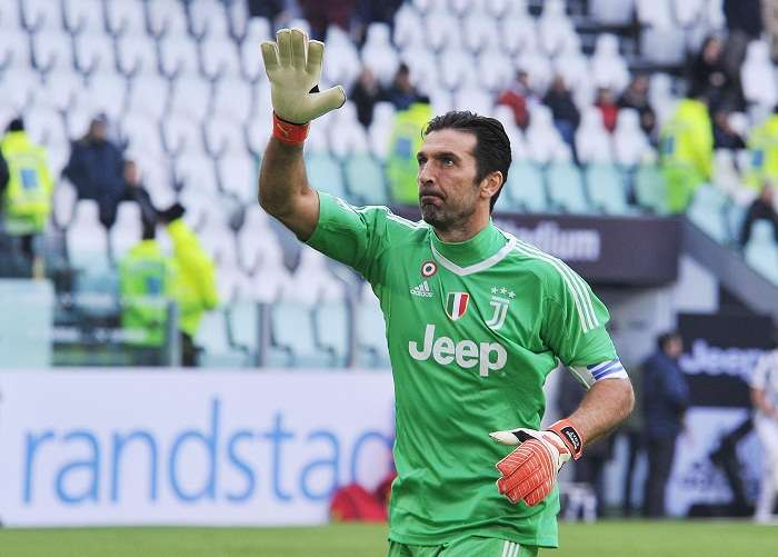 Gianluigi Buffon, actual guardameta de la Juventus Football Club de la Serie A Foto: EFE
