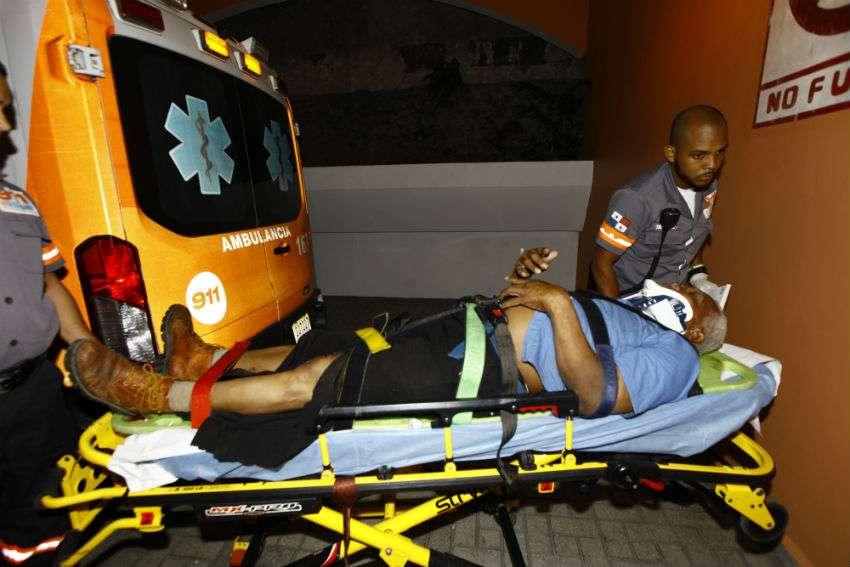 La víctima se mantiene fuera de peligro desde anoche. Foto: Alexander Santamaría