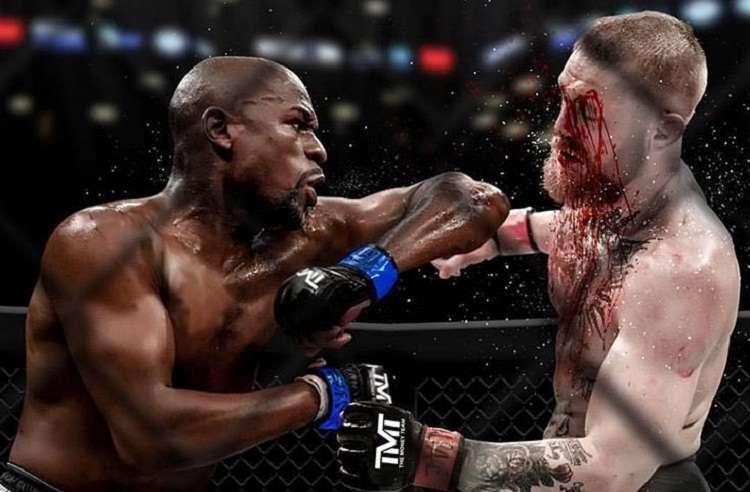 Este fue el fotomontaje que Floyd Mayweather Jr. subió a sus redes sociales.Foto: Twitter