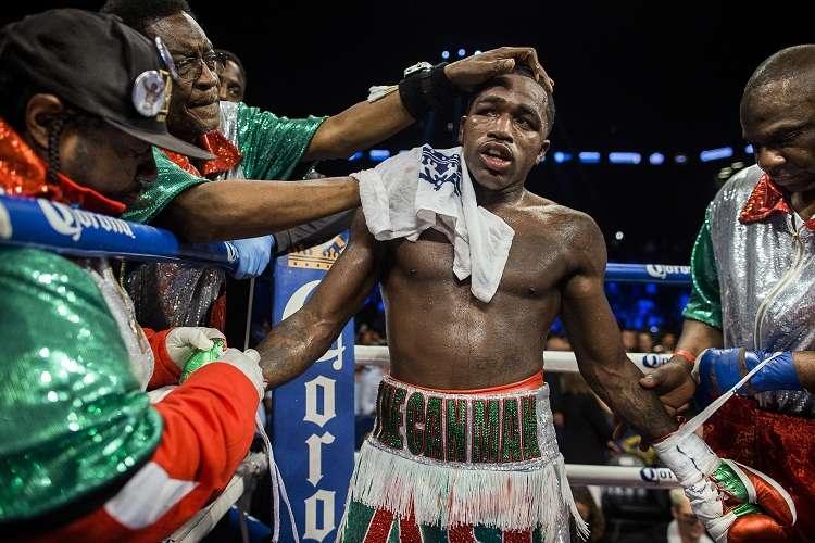 Adrien Broner no pelea desde julio del año pasado. Foto:AP