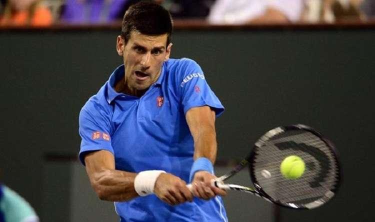 Novak Djokovic es el actual número 14 en la lista de la ATP. Foto: EFE