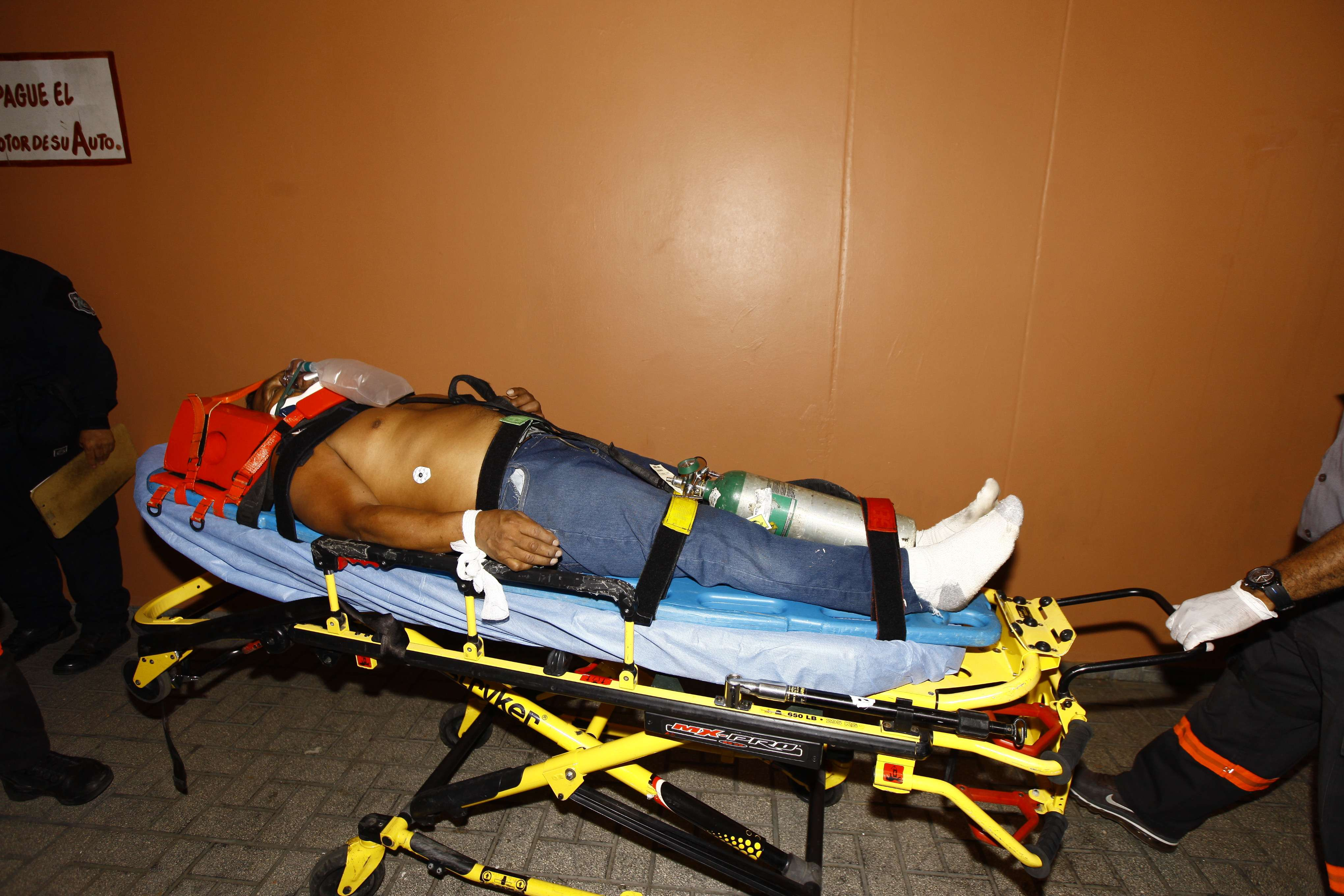 La víctima se recluida en en hospital Santo Tomás, fuera de peligro. Foto: Alexander Santamaría