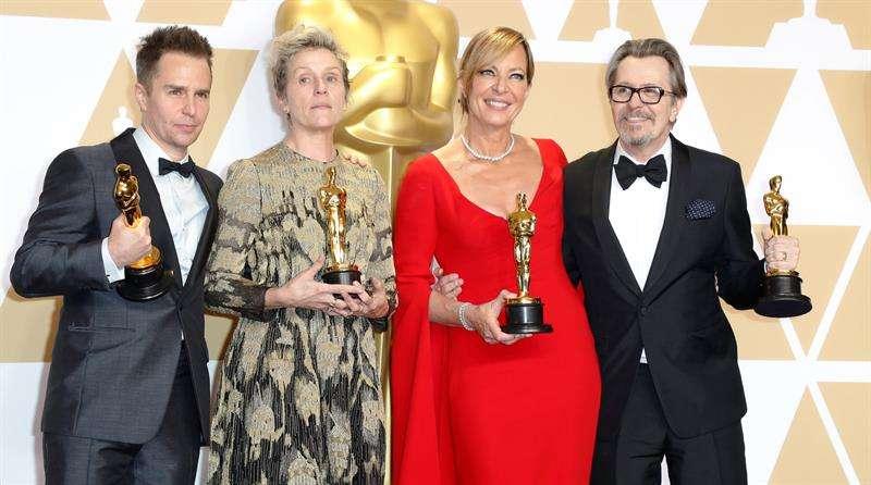 Frances McDormand ganó el Óscar a la mejor actriz.