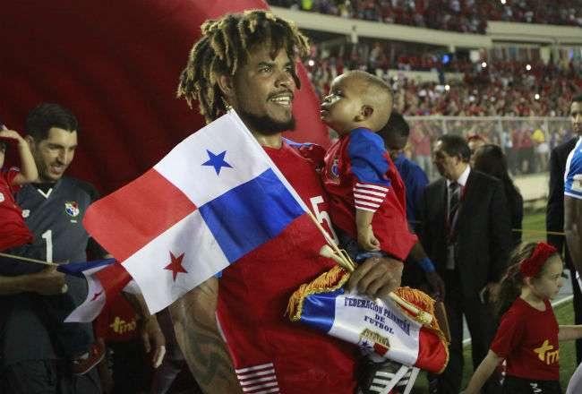 Román Torres es una de las figuras que presentará la Selección Mayor de Fútbol de Panamá en el Mundial Rusia 2018. Anayansi Gamez