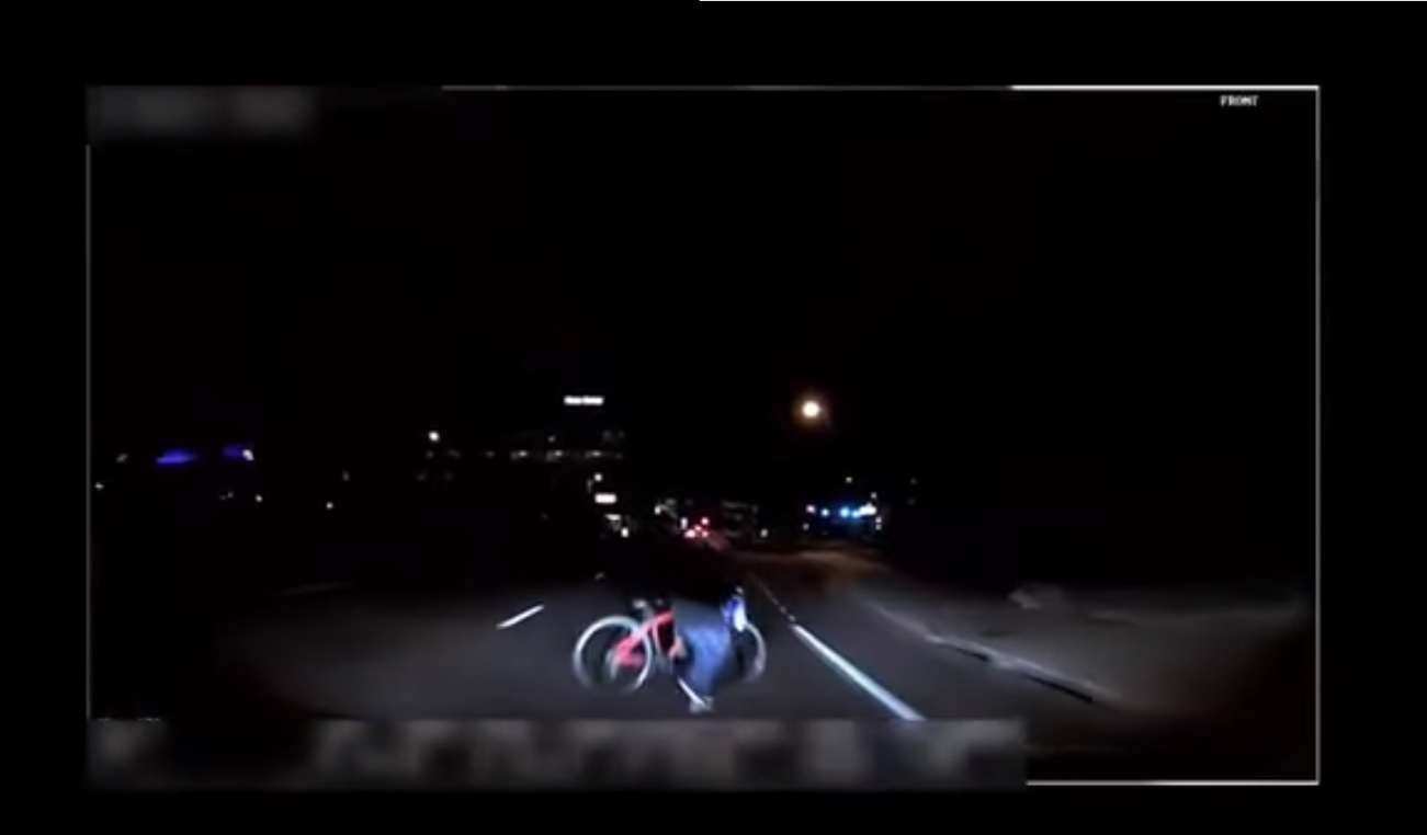 Captura de video policía de Tempe