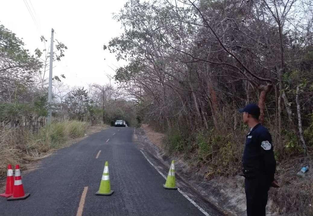 Vista general del área del suceso en San Carlos. Foto: Eric Montenegro