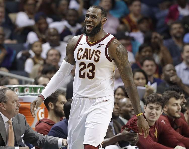 LeBron James. / Foto AP