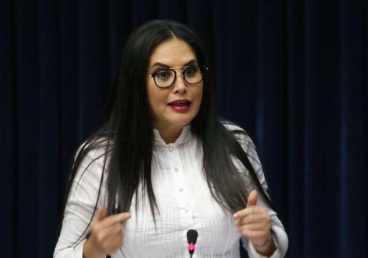La perredista cuestionó al Ministerio Público y a los grupos satélites del gobierno como Movin y Annette Planells.