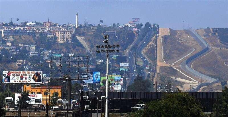 Imagen de la frontera entre Estados Unidos y México. Foto/EFE archivo