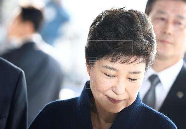 Expresidenta surcoreana Park Geun-hye. Foto/EFE