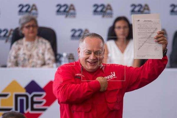 Diosdado Cabello. Foto/EFE archivo