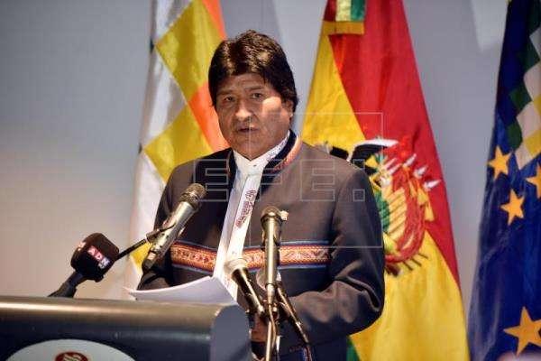 Presidente Evo Morales. Foto/EFE