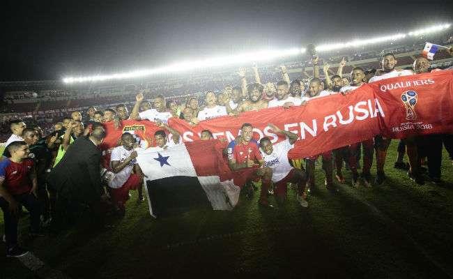 La selección de Panamá participará de su primer mundial. Foto: Anayansi Gamez