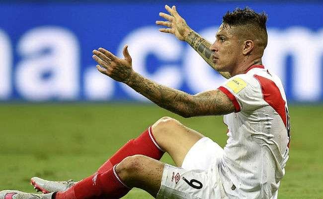 El jugador peruano Paolo Guerrero. Foto: EFE