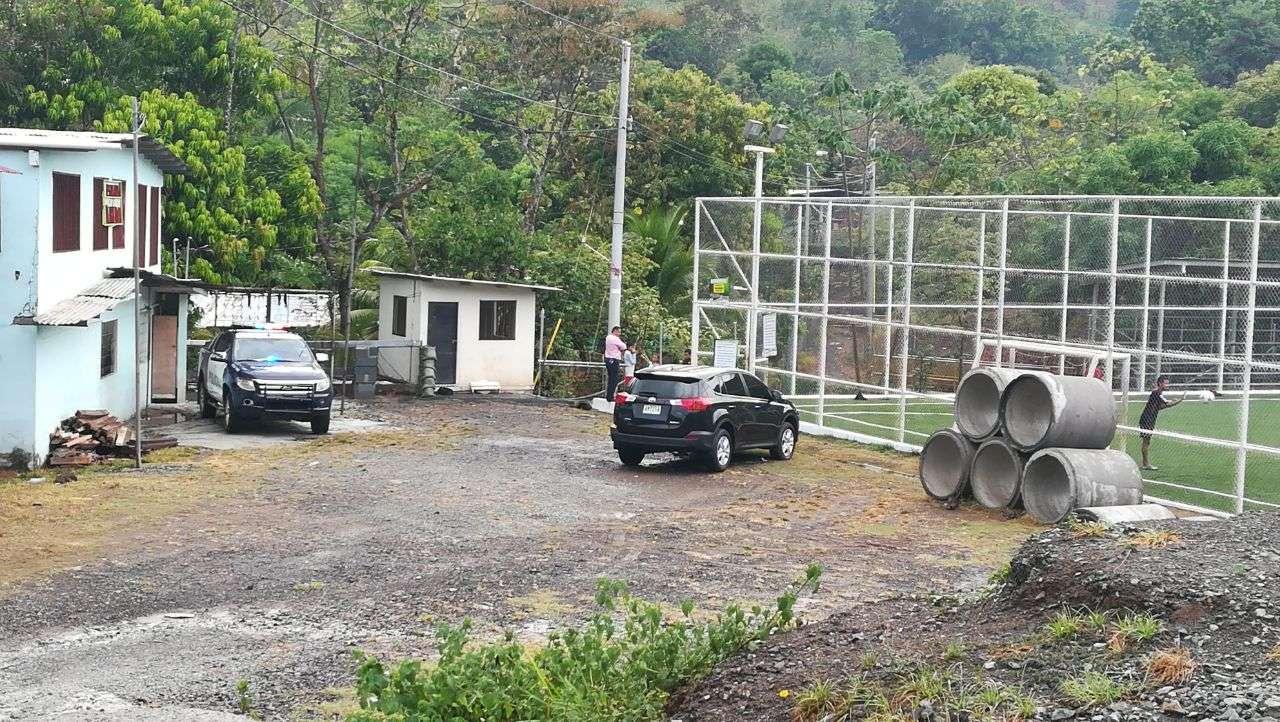 Área donde ocurrió el hecho. Foto/Video. Jorge Luis Barría