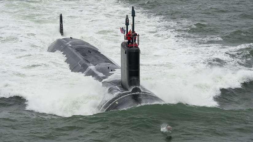 Submarino estadounidense USS John Warner navy.mil / Chris Oxley
