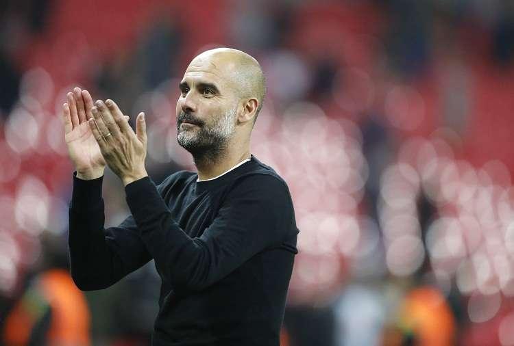 Pep Guardiola gana la Premier League con el Manchester City y suma su título número 23 como técnico. Foto: AP