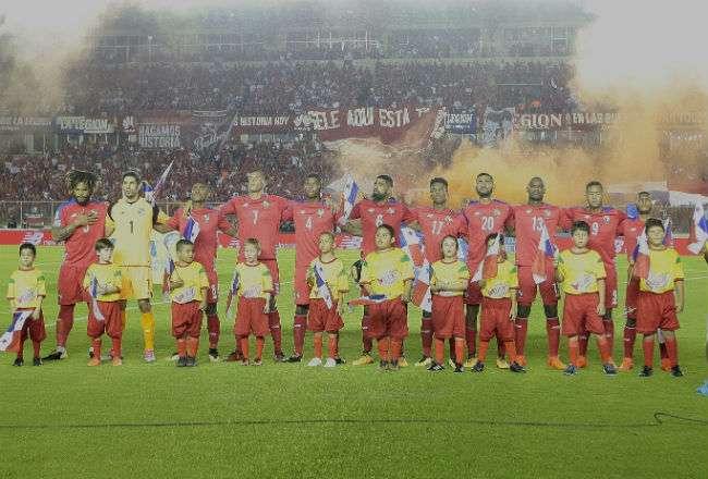 Jugadores de la selección de Panamá. Foto: Anayansi Gamez
