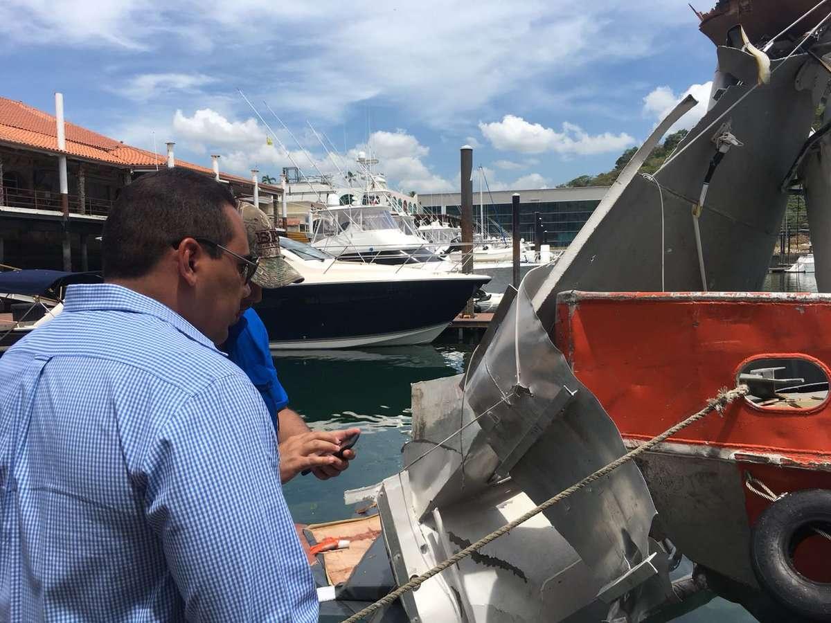 La explosión ocurrió el pasado viernes, en la Isla Flamenco.