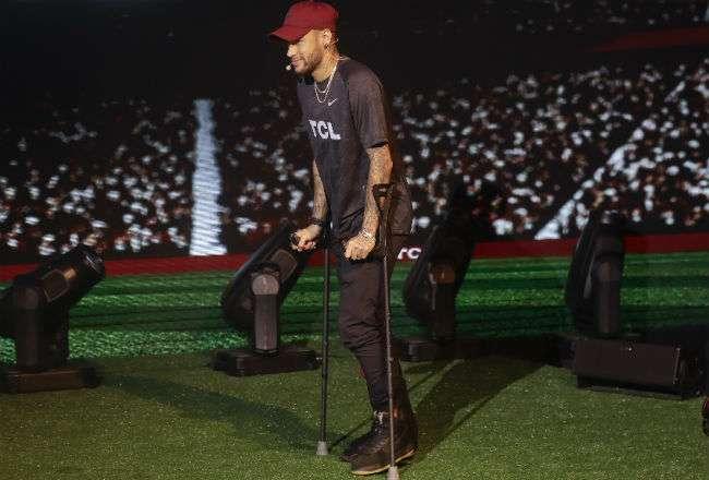 El jugador Neymar. Foto: AP