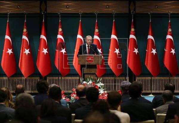 Presidente Recep Tayyip Erdogan. Foto/EFE
