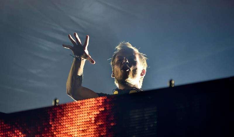 El artista y DJ sueco Avicii, durante una actuación en el festival de Pildammsparken, en Malmö, Suecia. Foto/EFEarchivos