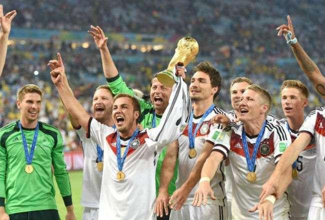 Alemania defenderá el título obtenido en el Mundial de Brasil 2014.