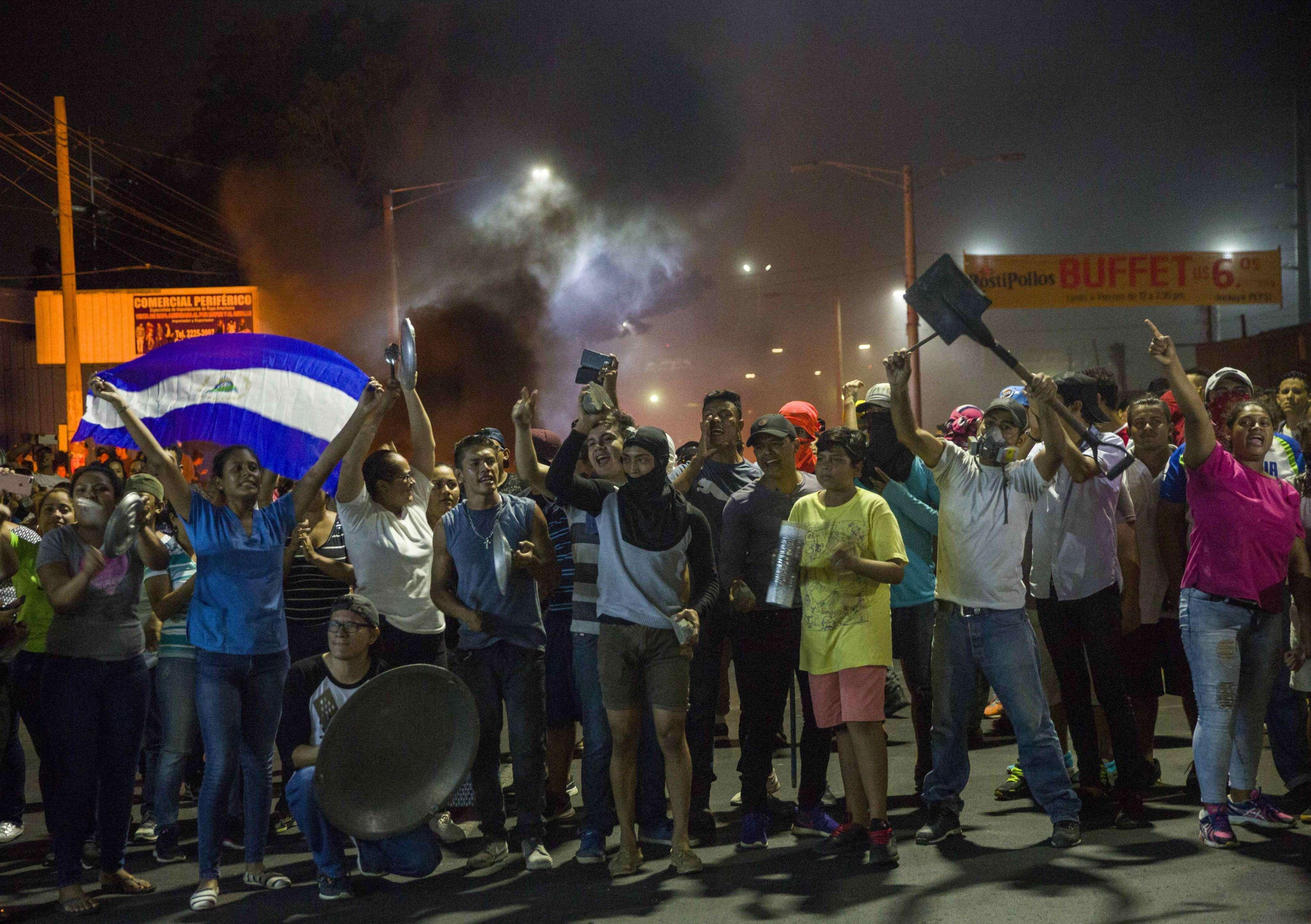 La tensa situación en Nicaragua se mantiene.