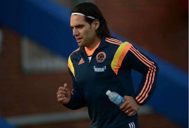 El jugador de la selección Colombia Falcao. Foto: EFE