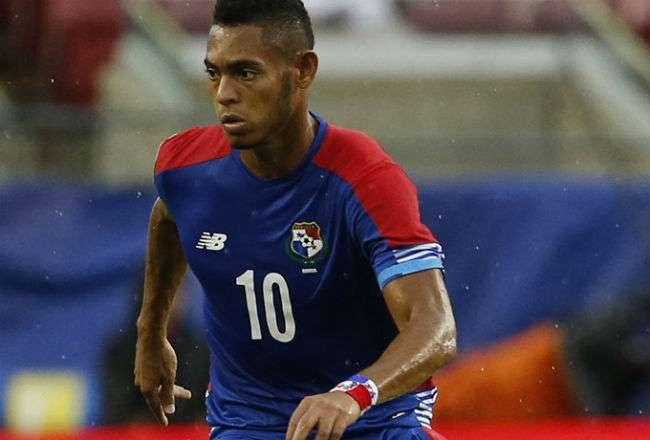 El jugador panameño Ismael Díaz.