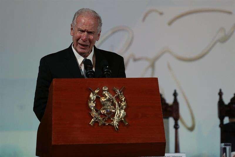 Expresidente Álvaro Arzú Irigoyen. Foto/EFE
