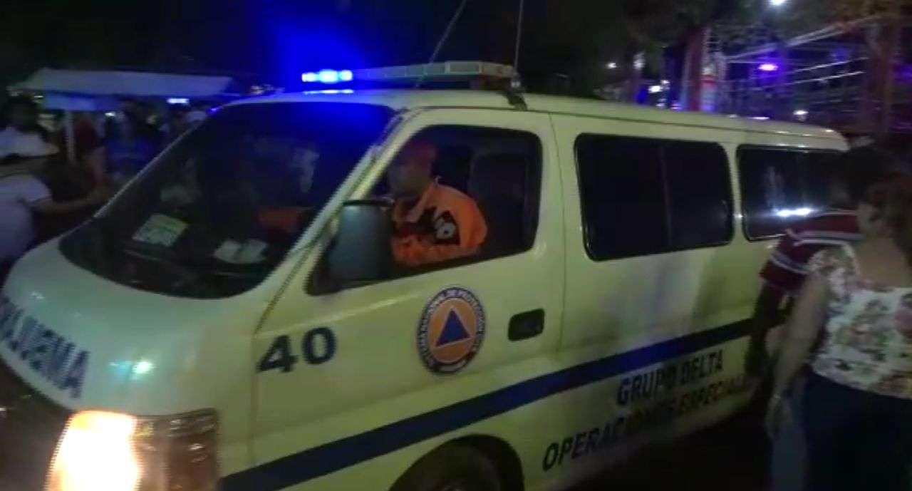 Unidades del Sinaproc atendieron la emergencia