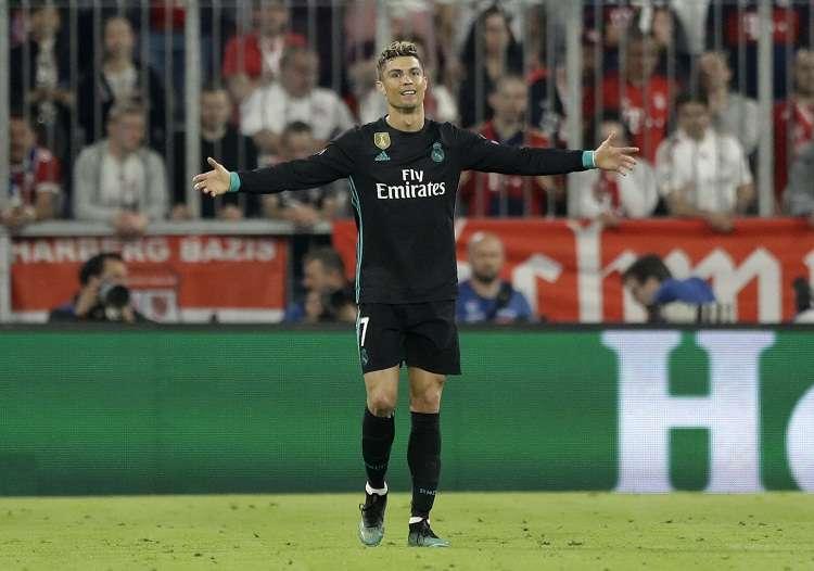 Cristiano Ronaldo, ganador de cinco balones de oro. Foto: AP